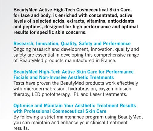 BEAUTYMED RANGE BENEFITS