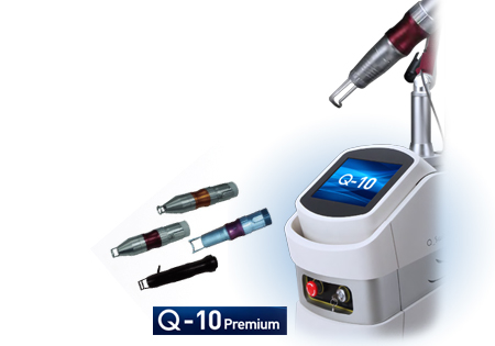 Q10 Q-Switched Nd:Yag & Long Pulse Laser Tattoo Removal